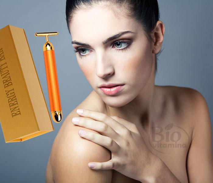 Energy Beauty Bar – tonifică faţa şi reduce ridurile prin vibromasaj cu ioni de aur
