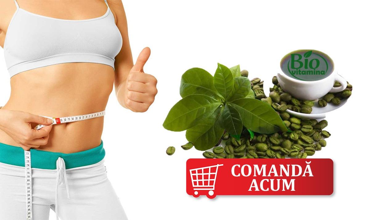Cafea Verde Green Coffee pierdere kilograme ardere grasimi