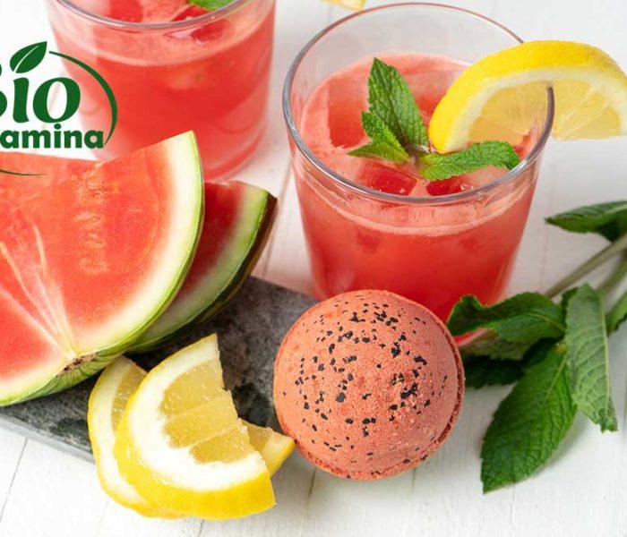 Suc de grapefruit şi pepene roşu – pentru slăbit