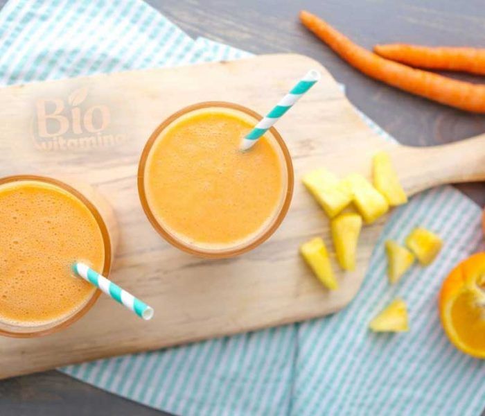 Golden Detox Smoothie – plin de vitamina C